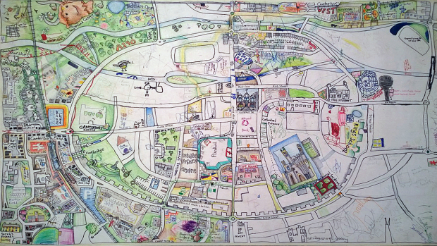 THE CANTERBURY PEOPLE'S MAP PART III