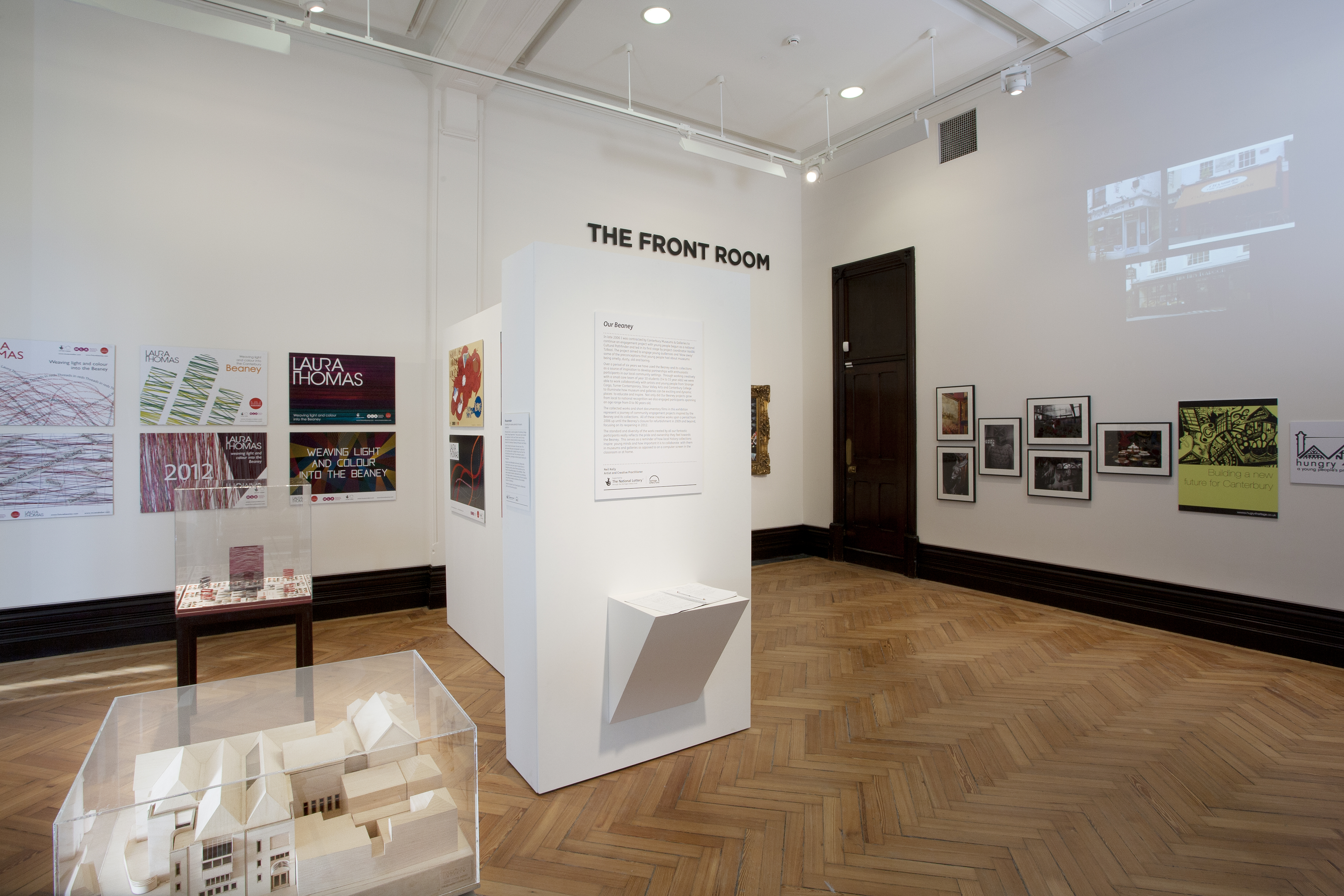 The Front Room Gallery at The Beaney