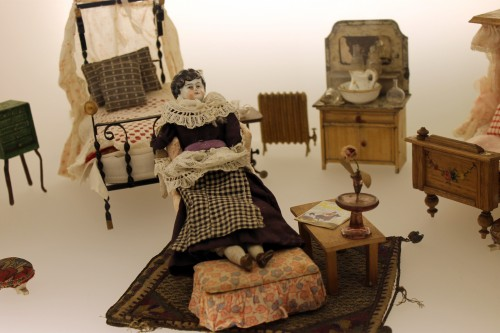 Dolls and Dolls House furniture