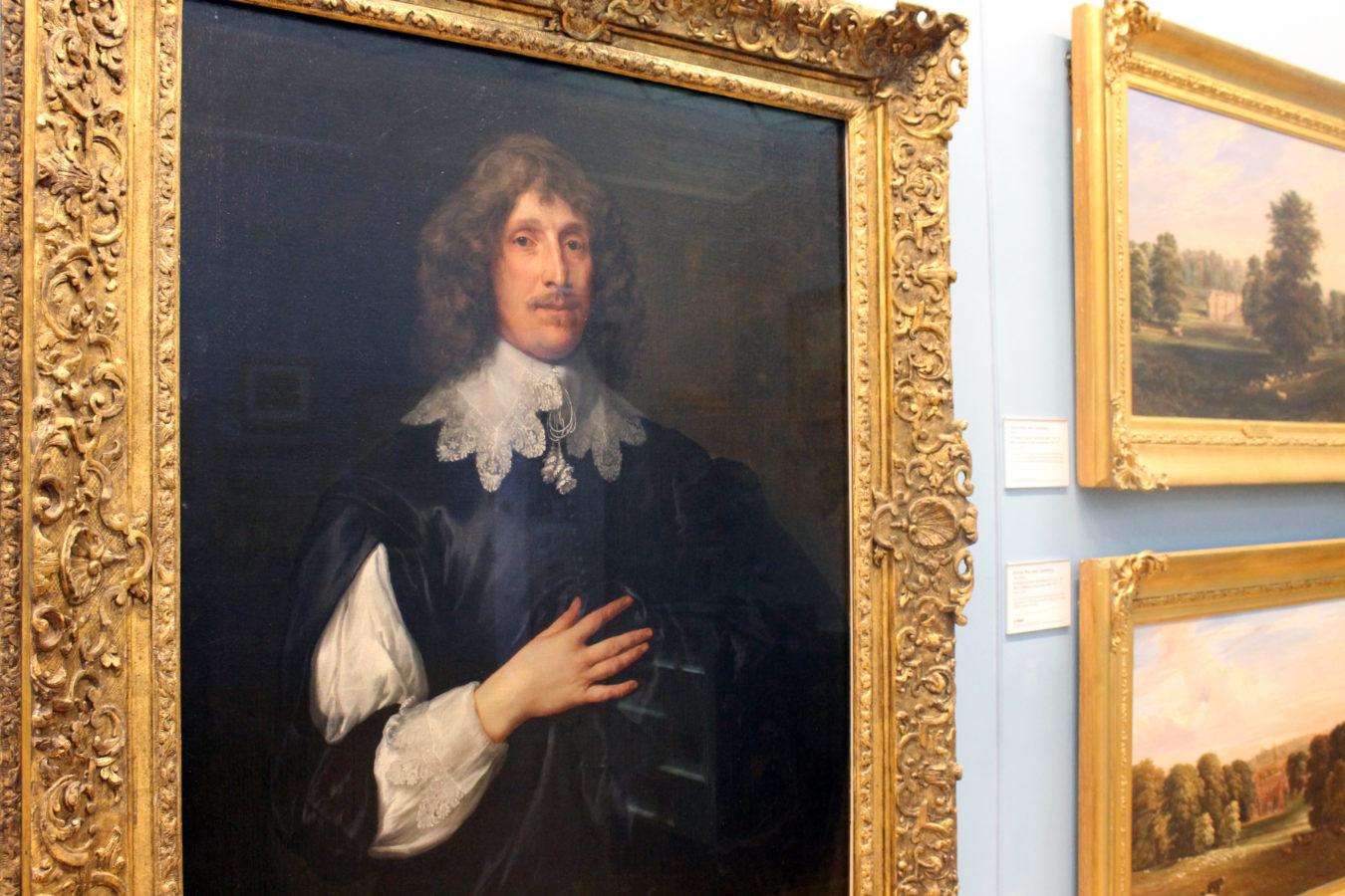 Sir Basil Dixwell by Sir Anthony van Dyck