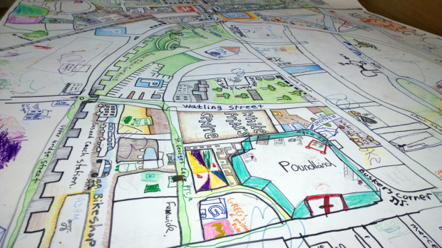 THE CANTERBURY PEOPLE'S MAP PART II
