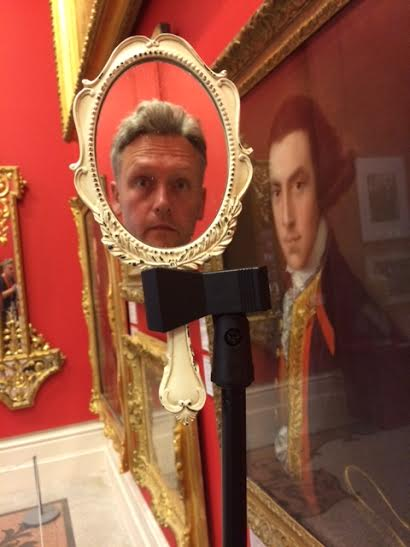 Not Tony Curtis: Reflections of an Unidentified Man