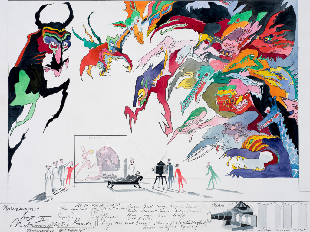 See Gerald Scarfe's stage and screen designs at The Beaney