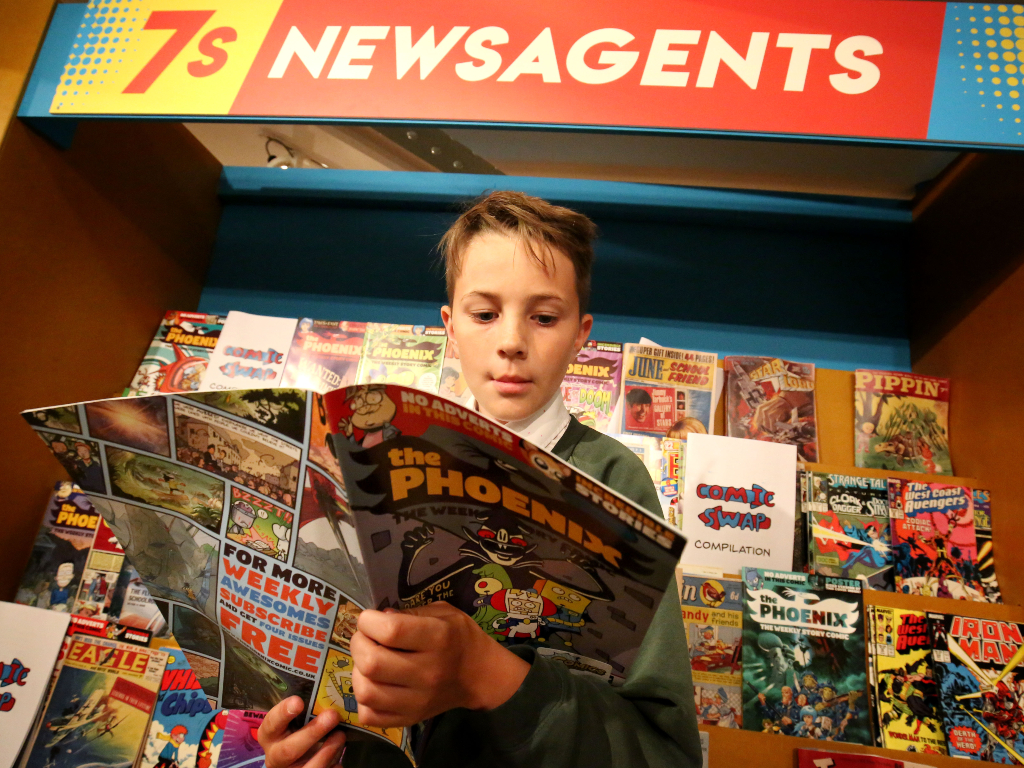 Comics Exhibition Comes to The Beaney
