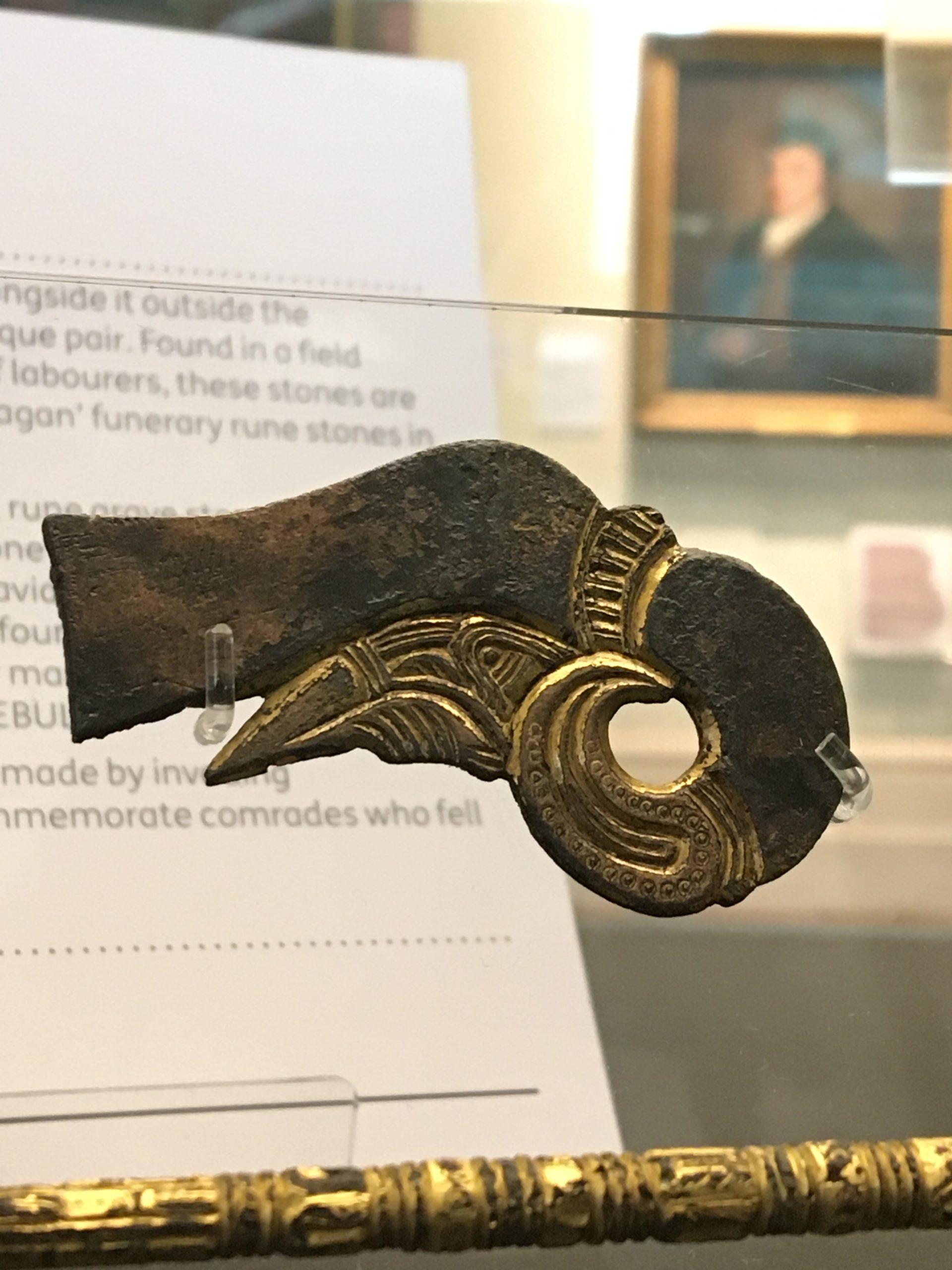 Anglo Saxon mount with animal design