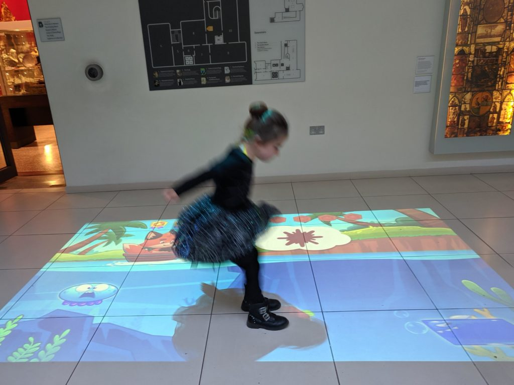 BEAM! Interactive Game Projector