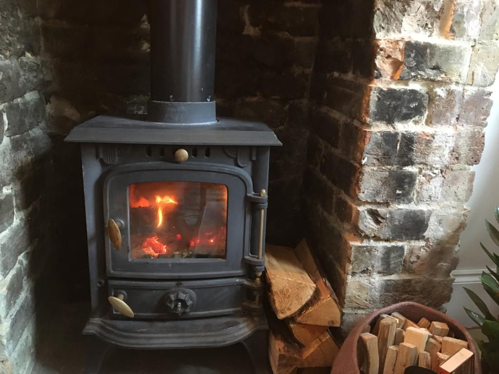 Wood-burning stove