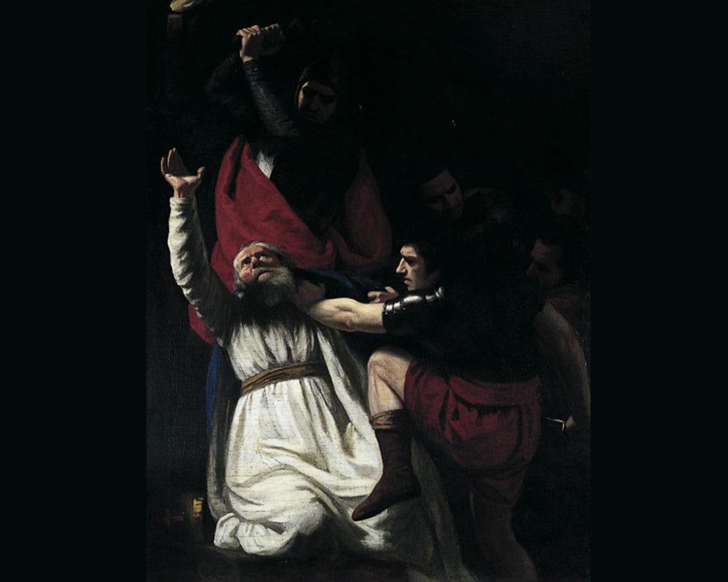 The Murder of Becket by John Opie