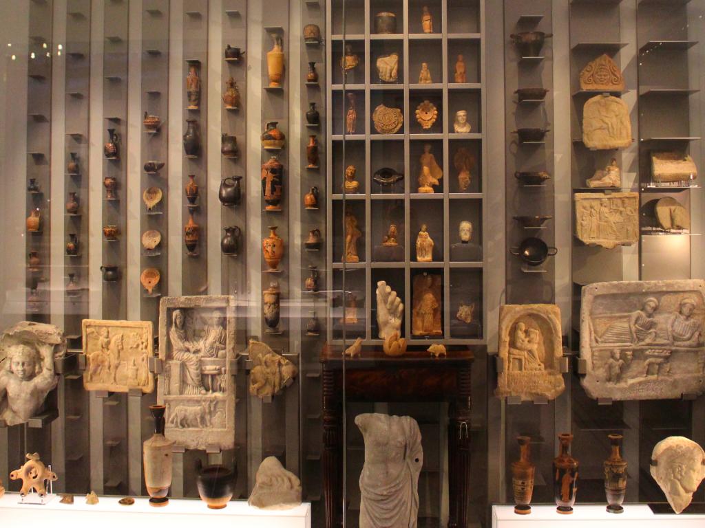 Ancient Greek display