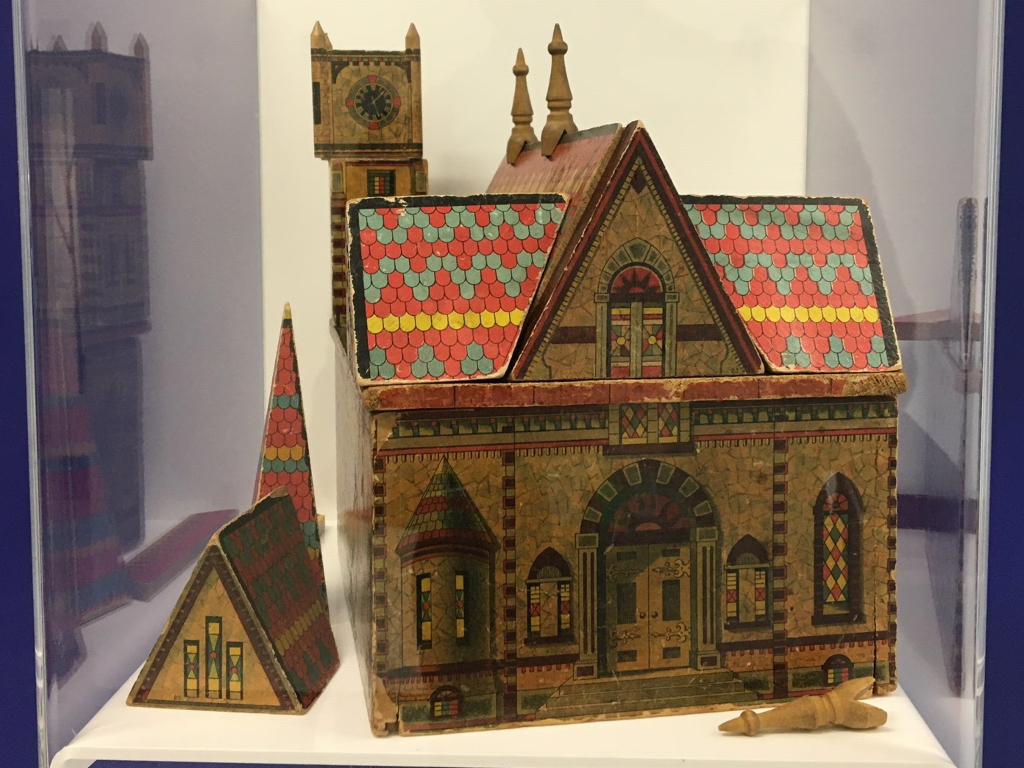 Wooden block Cathedral
