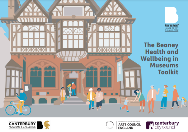 The Beaney Health and Wellbeing in Museums Toolkit front cover