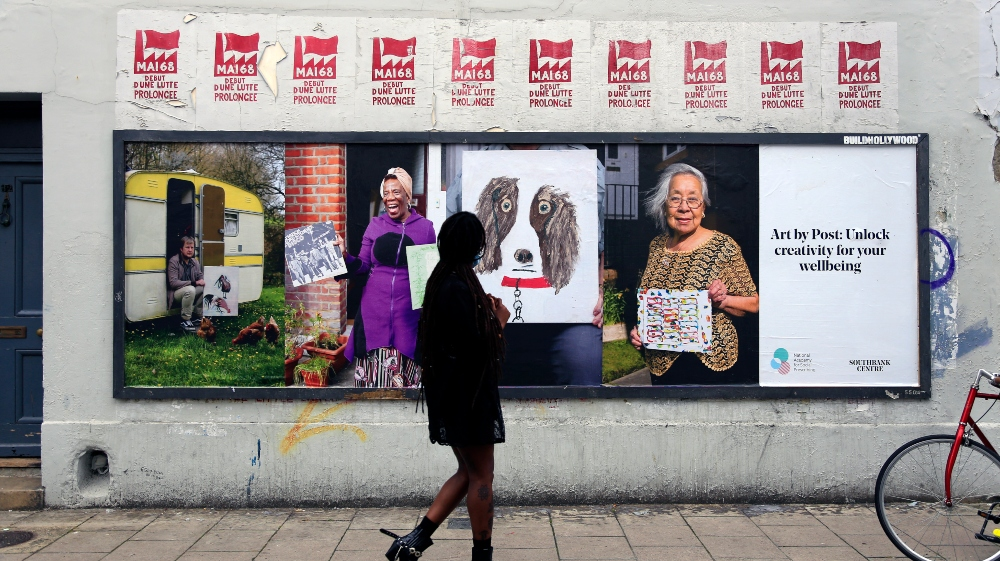 The Beaney among six venues confirmed for Southbank Centre's Art by Post touring exhibition.